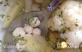 Диетический суп с мини-фрикадельками