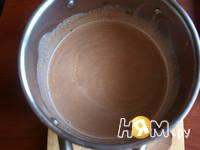 Приготовление шоколадного мороженого: шаг 2