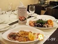 Приготовление морской рыбы фламбе с виски и грушей: шаг 13