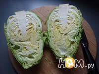 Приготовление капустного салата: шаг 2