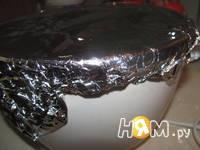 Приготовление крученого торта: шаг 18