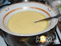 Приготовление торта Нежный орешек: шаг 3