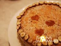 Приготовление торта Нежный орешек: шаг 20