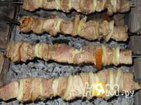 Приготовление шашлыка из свинины с лимоном: шаг 6