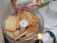 Приготовление печенья-чизкейка: шаг 1