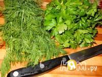 Приготовление кутабов с зеленью: шаг 5