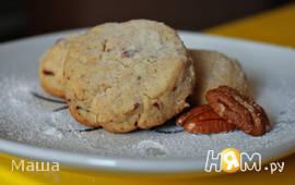 Песочное печенье с орехами пекан