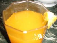 Приготовление мандаринового напитка: шаг 3