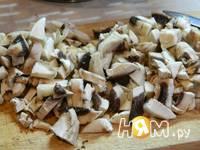 Приготовление крученников с грибами: шаг 5