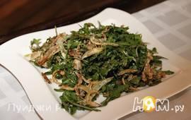 Классический салат с артишоком