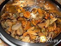 Приготовление жюльена из мидий: шаг 1