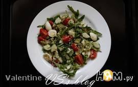 Салат: перепелиные яйца и киви