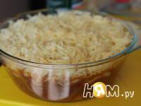 Приготовление овощной запеканки с мясом и макаронами: шаг 10