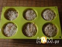 Приготовление кекса с  кунжутом  и корицей: шаг 1