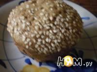 Приготовление кекса с  кунжутом  и корицей: шаг 3