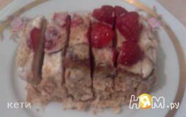 Тортики с жареными бананами