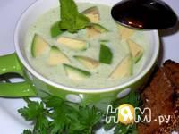 Приготовление холодного крем-супа с авокадо на кефире: шаг 7