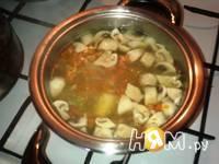 Приготовление крем-супа из шампиньонов : шаг 2