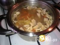 Приготовление крем-супа из шампиньонов : шаг 3