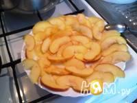 Приготовление слоеных яблочных розочек: шаг 4