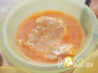Приготовление куриной грудки в яично-сырной корочке: шаг 4