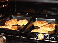 Приготовление куриной грудки в яично-сырной корочке: шаг 7