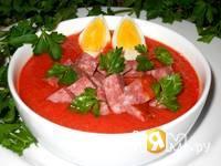Приготовление холодного томатного супа-пюре: шаг 7