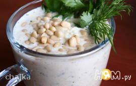 Холодный суп-пюре из кольраби