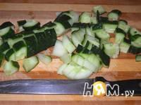 Приготовление холодного мятного супа-пюре: шаг 1