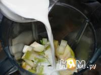 Приготовление холодного мятного супа-пюре: шаг 5