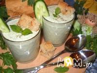 Приготовление холодного мятного супа-пюре: шаг 7