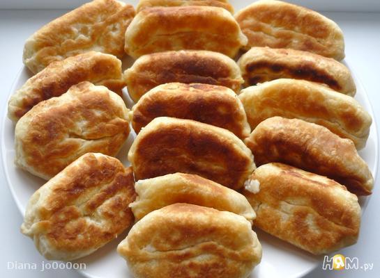 Пирожки с картошкой и творогом