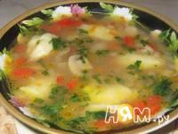 Приготовление гречневого супа: шаг 1