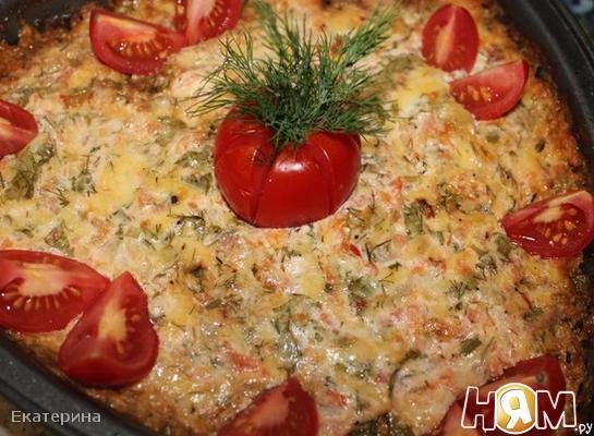 Рецепт Ароматные кабачки, запеченные в духовке