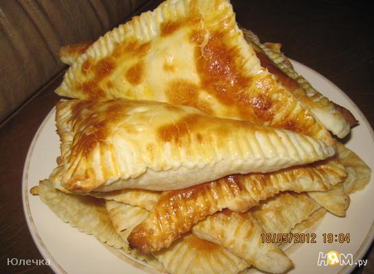 Слойки с сыром для ленивых