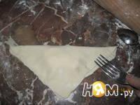 Приготовление слоек с сыром для ленивых: шаг 4