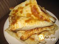 Приготовление слоек с сыром для ленивых: шаг 5