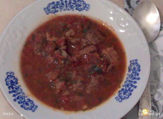 Суп-пюре «Острый»