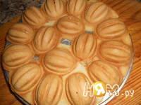 Приготовление печенья орешки: шаг 6