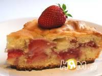 Приготовление клубничного пирога: шаг 10