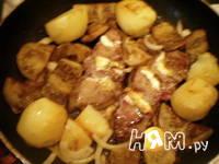Приготовление фаршированной говядины фламбе: шаг 7
