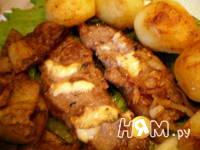 Приготовление фаршированной говядины фламбе: шаг 10