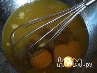 Приготовление чайного пирога: шаг 3