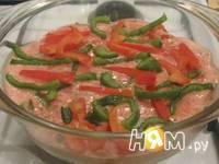 Приготовление курицы с овощами запеченной в сливках: шаг 7