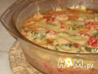 Приготовление курицы с овощами запеченной в сливках: шаг 8