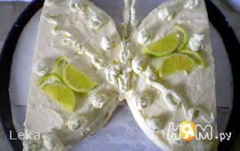"""Бисквитный торт """"Бабочка - лимонница"""""""