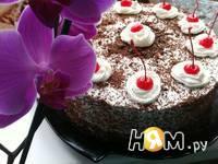 Приготовление шварцвальдского вишневого торта: шаг 26