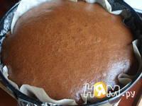 Приготовление шоколадного пирога с шариками: шаг 8