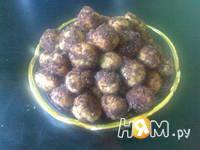 Приготовление печенья Рассыпчатые шарики: шаг 8