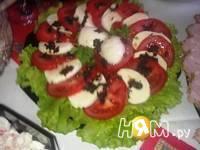 Приготовление салата Капрезе: шаг 1